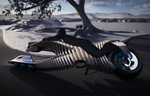 """Futuristički BMW Spirit savija """"telo"""" u krivini (VIDEO)"""