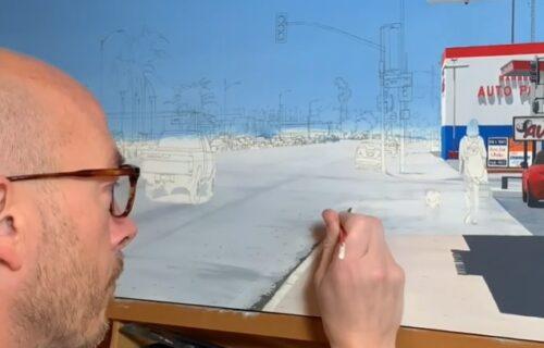 Lepše su mu slike i od razglednica: Umetnik samo s olovkom pravi neverovatna dela (VIDEO)