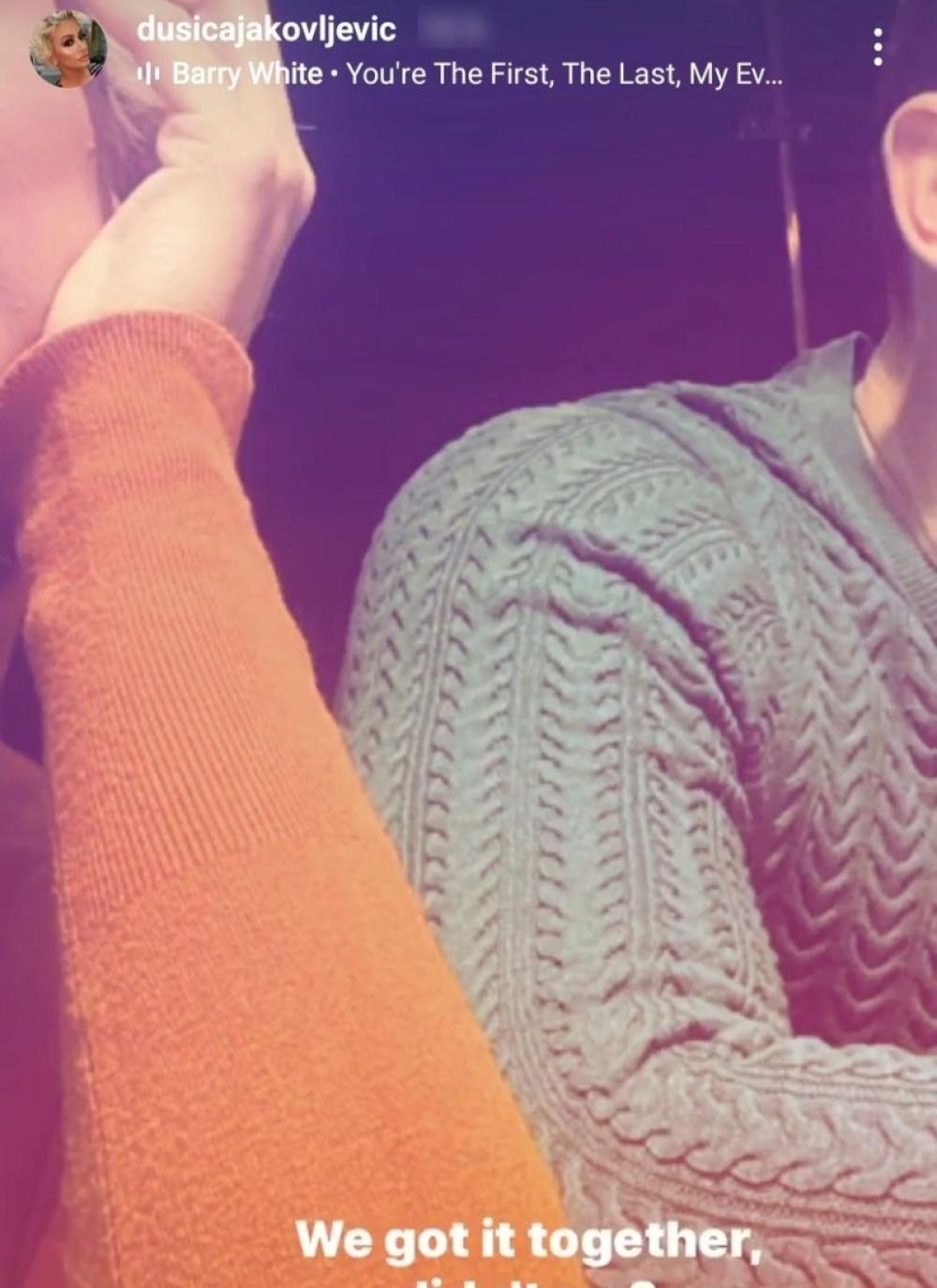 Znamo da je VISOK i ZGODAN! Dušica Jakovljević objavila slike sa novim dečkom, vešto ga krije od svih
