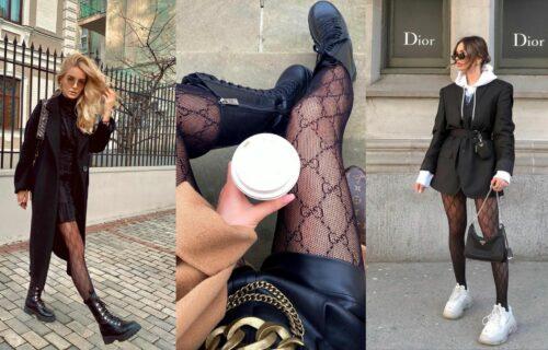 Zaboravite na dosadne dezene! U MODI su ČARAPE sa šarama i tufnicama, a ove su posebno popularne (FOTO)