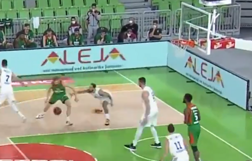 Ovo nema ni u NBA ligi: Magija Jake Blažiča - potez koji nas je ostavio bez daha! (VIDEO)