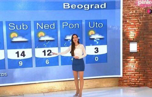 Kraći MINIĆ od prognoze: Voditeljka PECNULA Mariju Egelju uživo u programu, ona joj odmah uzvratila!
