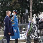 Danas je 100 godina od smrti vojvode Živojina Mišića: Ministar Stefanović položio venac na grob velikana