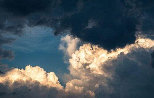 Vreme u Srbiji danas promenljivo: Oblačno, mestimična kiša, na planinama sneg