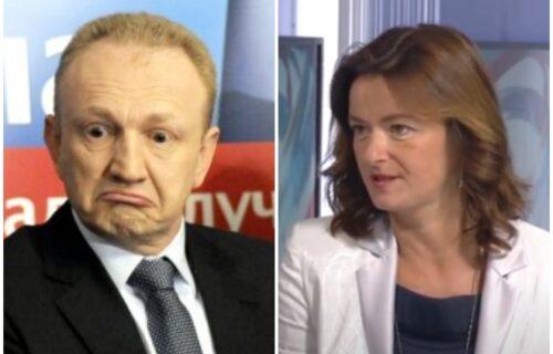 Njen miljenik bi da GASI MEDIJE u Srbiji, a ona traži slobodu: Tanja Fajon zaćutala na Đilasovu izjavu