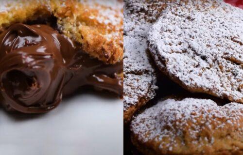 Vikend je upravo postao sjajan: Započnite dan pogačicama od starog hleba sa čokoladom (VIDEO)