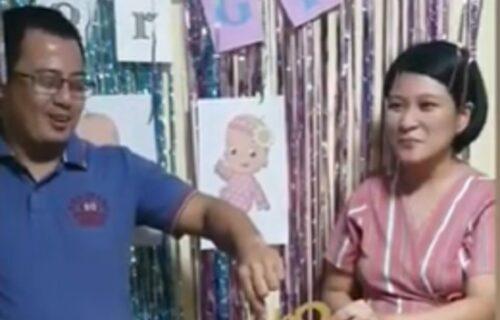 3 minuta napetosti: Par uz igru na efektan način saopštio gostima žurke kog je pola buduće dete (VIDEO)