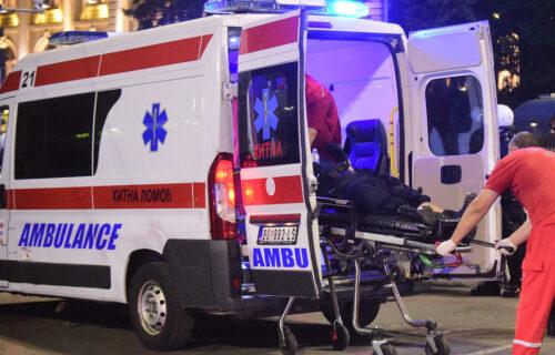 Horor u Mladenovcu: Zakucao se u mešalicu za cement, poginuo vozač