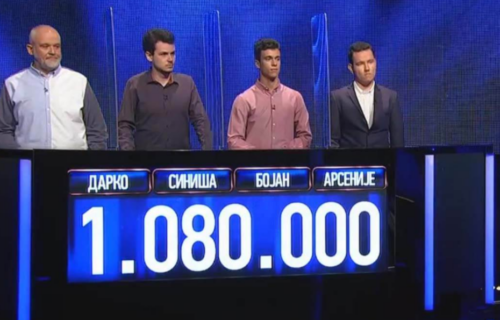 """ŠOK na RTS! Ostvaren novi rekord u kvizu """"Potera"""": Studenti zaradili do sada neviđenu cifru novca (FOTO)"""