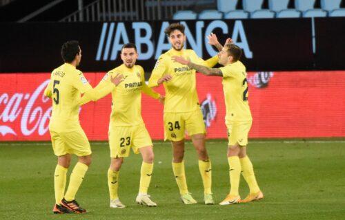 """Viljareal se približio Madriđanima: """"Žuta podmornica"""" spakovala četiri gola na gostovanju Selti"""