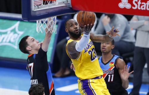 NBA liga: Pokuševski imao noć za pamćenje i rekord karijere, Bjelici ni minut u porazu Sakramenta (VIDEO)