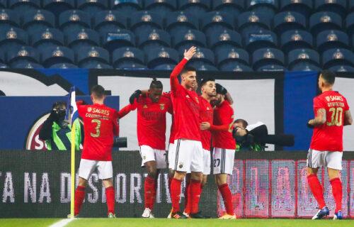 Benfika osvojila Moskvu: Spartak se raspao pred svojim navijačima!