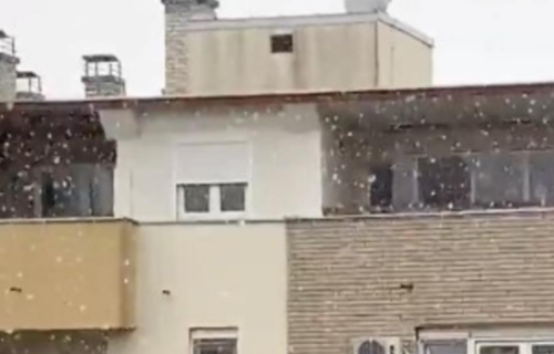 Beograđani se obradovali PRVOM SNEGU: Građani zabeležili predivan prizor u srpskoj prestonici (VIDEO)