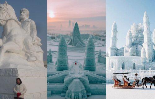 Da se smrzneš koliko je lepo: Posetite najveći FESTIVAL SNEGA i leda u celom svetu (FOTO+VIDEO)