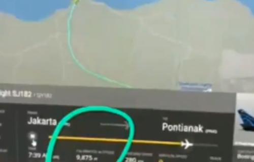 DRAMA na nebu! Užasan snimak PADA aviona, srušio se sa 3.000 metara za manje od minut (VIDEO)