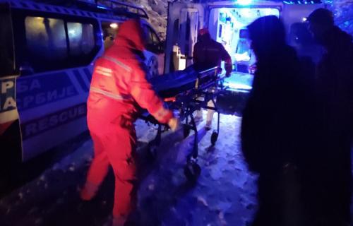 Okončana drama kod Niša: GSS spasila čoveka iz Toponičke reke (FOTO+VIDEO)