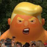 Sećate se balona sa likom Donalda Trampa? Evo gde je na kraju završio (VIDEO)