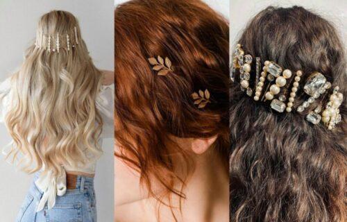 Najlepši ukras za svaku frizuru: UKOSNICE su se vratile i što su NEOBIČNIJE - to bolje (FOTO)