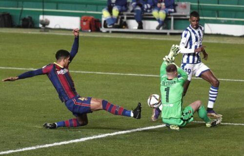 Nema Mesija, ali tu je Ter Štegen! Golman odveo Barsu u finale posle penal ruleta! (VIDEO)