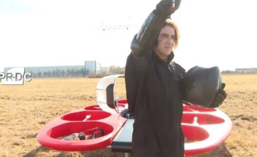 Neverovatno! Željko Mitrović PREDSTAVIO prototip gradskog LETEĆEG automobila! (VIDEO)