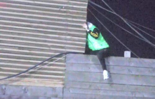 Ša POBEGAO iz Zadruge?! Reper se popeo na KROV i preskočio ogradu zbog Tare Simov (VIDEO)
