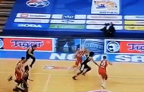 Herojski potez kapitena: Ovako je Lazić spasio Zvezdu u poslednjim trenucima meča (VIDEO)