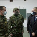 Ministar Stefanović pozvao mlade da se prijave na konkurs za vojne škole (VIDEO+FOTO)