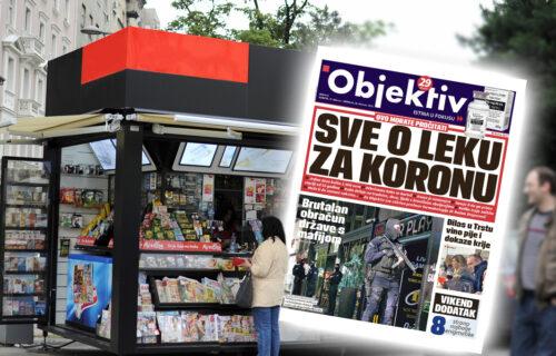 Danas u novinama Objektiv: Ispovest logoraša o Jasenovcu, sve o leku za koronu (NASLOVNA STRANA)