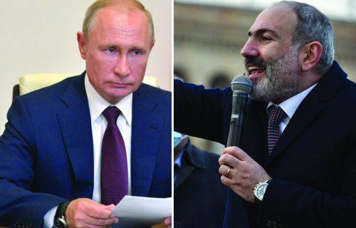 Pašinjan zvao Putina! HAOS u Jermeniji se nastavlja, narod ruši VLADU (FOTO+VIDEO)