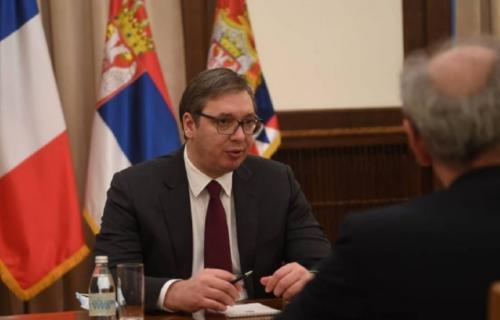 Vučić sa Falkonijem: Predsednik se sastao sa francuskim ambasadorom (FOTO)