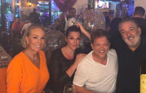 Bjela sa ženom proslavio Dan zaljubljenih u društvu Brene i Bobe u Majamiju: Evo kako se provode (FOTO)