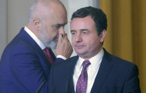 Kurti hoće VELIKU ALBANIJU, Edi Rama objavio BIZARNU fotografiju - zajedno imaju isti CILJ