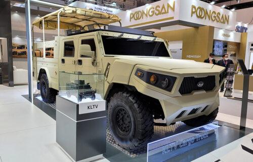KIA Motors predstavlja: Next-gen vojni terenac KLTV (FOTO)