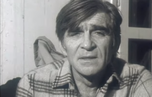 Sada su legende: Mika Antić je jednom na ulici tešio dva uplakana momka koja nisu primljena na glumu