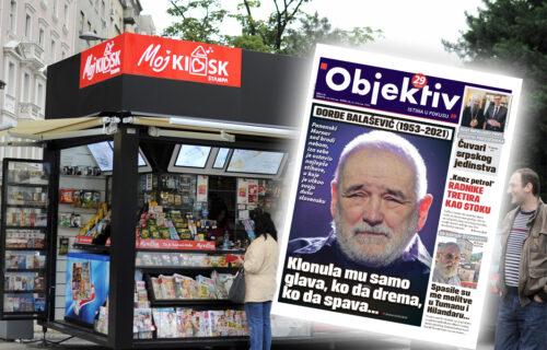 Danas u novinama Objektiv: O smrti Đorđa Balaševića, patrijarh Porfirije ugostio Vučića (NASLOVNA STRANA)