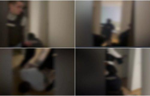 """""""LEZI DOLE, POLICIJA!"""" Pogledajte kako je pao jedan od vođa Alkatraza u štek-stanu (VIDEO)"""