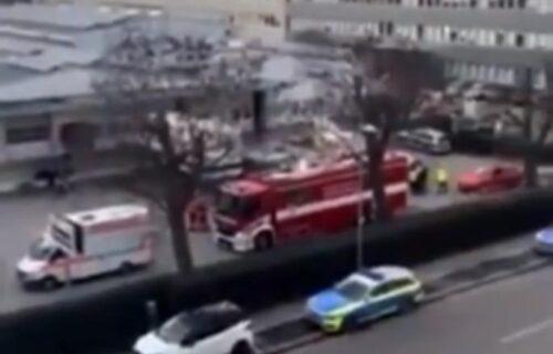 PRVI SNIMCI za mesta stravične eksplozije u Lidlu: Ostala pustoš, hitne službe na sve strane (VIDEO)