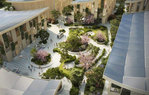 """Toyota gradi """"Woven"""": Grad budućnosti imaće pametne kuće, robote i 2.000 stanovnika (VIDEO)"""