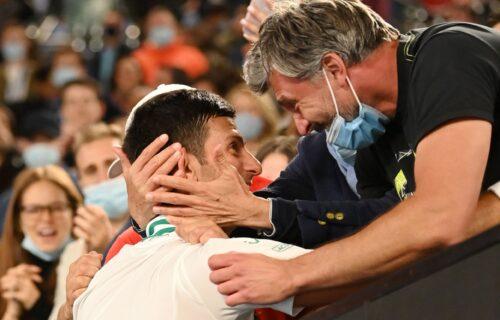 Eksplozija emocija: Ivanišević i Đoković u emotivnom zagrljaju posle meča (VIDEO+FOTO)