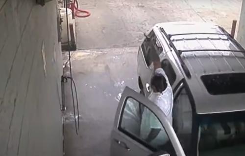 Profesionalna likvidacija na benzinskoj pumpi: Napadač iz automobila sasuo kišu metaka u žrtvu (VIDEO)