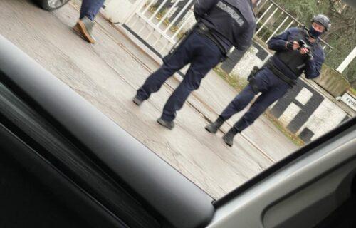 Dramatično u Humskoj: Uhapšen muškarac na stadionu Partizana