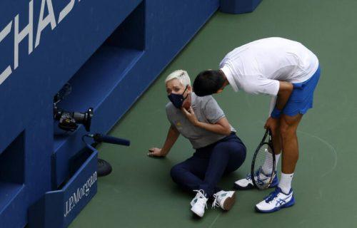 Laura Klark je kriva za sve: Da Novak nije pogodio sudiju, ishod bi bio isti!