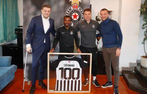 Ozbiljan rekord: Suma treći stranac u istoriji Partizana sa više od 100 utakmica!
