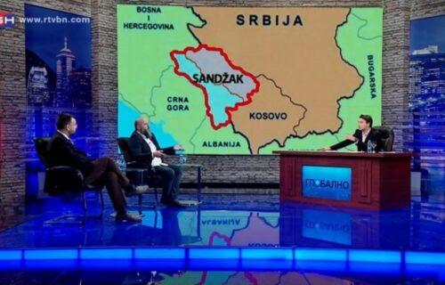 SKANDALOZNA mapa na BN TV: Prikazali rasparčanu Srbiju!