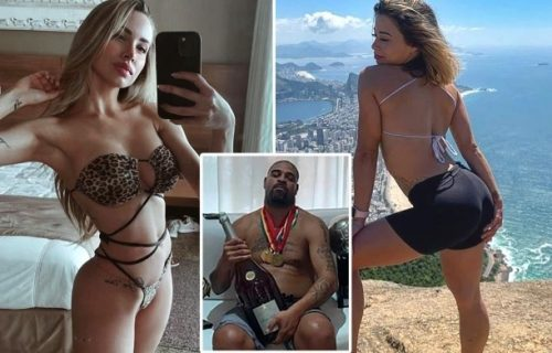 Adrijano uhvaćen u orgijama: Brazilac uslikan sa dve bivše devojke u hotelu koji plaća 12.000 evra (FOTO)