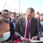 Vučić posetio radove kod Šapca: Zahvaljujući tome što se nismo oslanjali na EU, zato smo ISPRED NJIH!