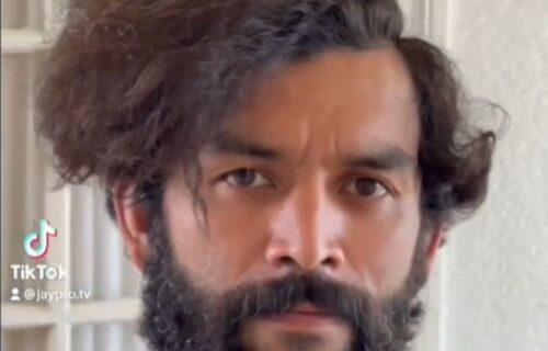 Beskućnik je ušao kod frizera i tražio dolar... Dobio je novi izgled i postao je pravi ZAVODNIK! (VIDEO)