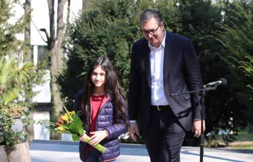 """Mala """"Dara"""" Vučiću saopštila ŽELJU: Predsednik otkrio kada će joj biti ispunjena - evo o čemu je reč"""
