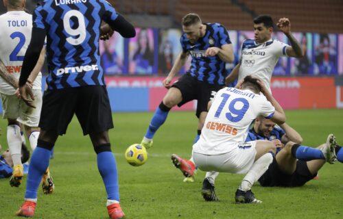 Škrinjar doneo novu pobedu: Inter se posle gola povukao i sačuvao prednost do kraja meča (FOTO)