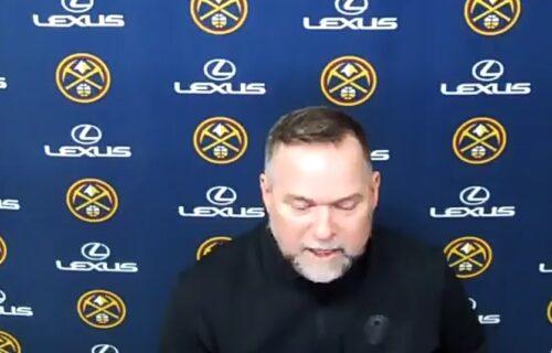 Jokićevog trenera rastužila ubistva u Americi: Meloun zaplakao zbog dece nastradalog policajca (VIDEO)